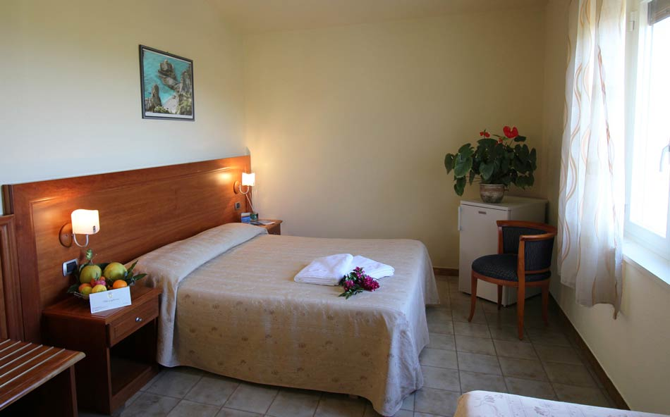 Economy Zimmer Hotel Tropea Kalabrien